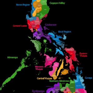 PhilippinesStatesMap